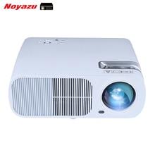 Noyazu LED Wireless Android 4.4 Wifi Miracast HD Proyector de Vídeo 1080 p 3D 2600 Lúmenes Para El Cine En Casa Cine Juegos Portátil blanco