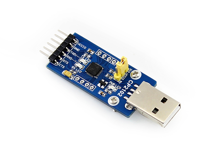 CP2102 USB To UART Module USB Connector,  USB TO RS232 Development Board = CP2102 USB UART Board (type A)