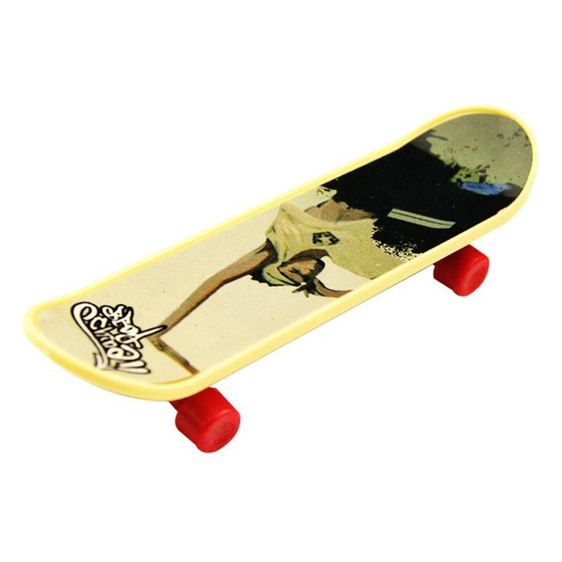 Ausdrucksvoll 4 Stücke Finger Board Deck Lkw Mini Skateboard Spielzeug Junge Kinder Kinder Geschenk Harmonische Farben