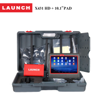 LAUNCH Official Store Original X431 HD Pad 10 1 Wifi Bluetooth Scan Tool Pro Diagnostic Scanner