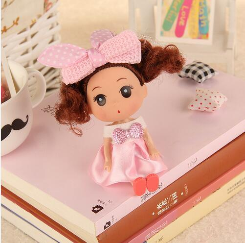 Decorative Mini Soft Dolls For Kids 2 pcs Set