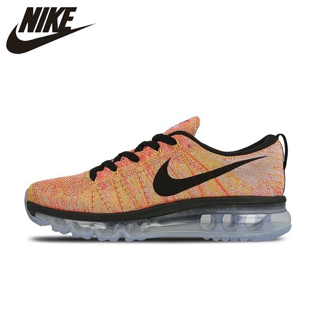0c9c1cf5fbc6b NIKE FLYKNIT AIR MAX Original Womens Running Shoes Limited Mesh Breathable  Footwear Super Light Sneakers For