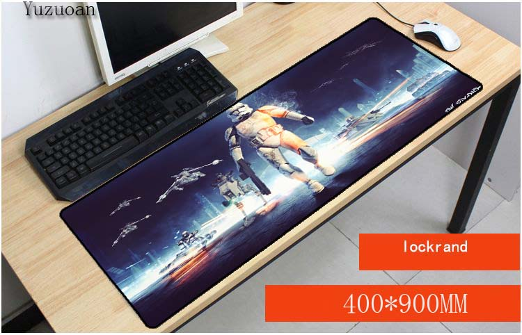 Yuzuoan Star Wars Besat Mouse Pad Notebook Computer 30X60CM 30X70CM 30X80CM Mouse Mat Gaming keyboard Free Shipping Mouse Pads