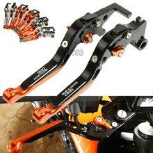 цена на For KTM 990 Adventure 2009 Motorcycle Brake Clutch Levers CNC Adjustable Folding Extendable Levers Motorbike Accessories Parts