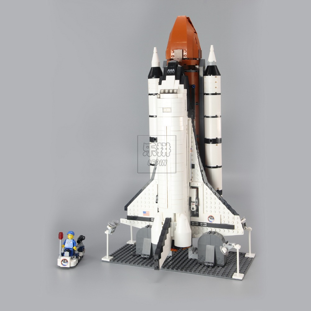 IN STOCK Lepinblocks 16014 Space Shuttle Expedition Building Kits Set Blocks Bricks Compatible Legoinglys Children Toys 10231