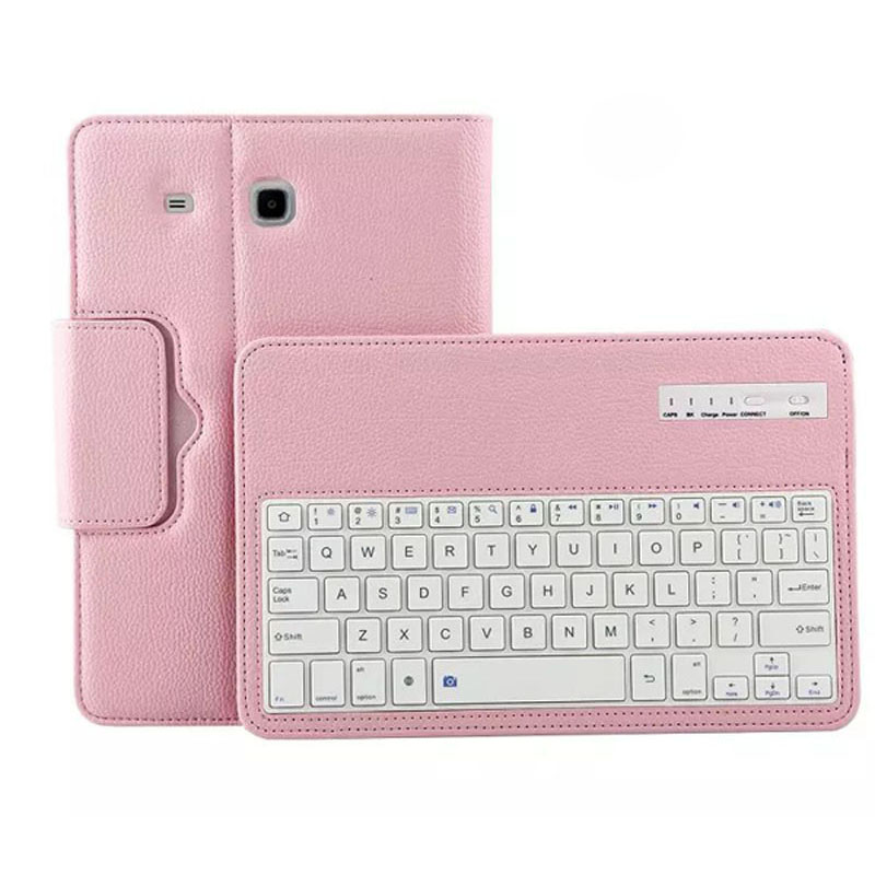For Samsung Galaxy Tab A 7.0 SM-T285 case Removable Wireless Bluetooth Keyboard Case for samsung galaxy tab t280 T285 аксессуар чехол it baggage for samsung galaxy tab a 7 sm t285 sm t280 иск кожа red itssgta70 3