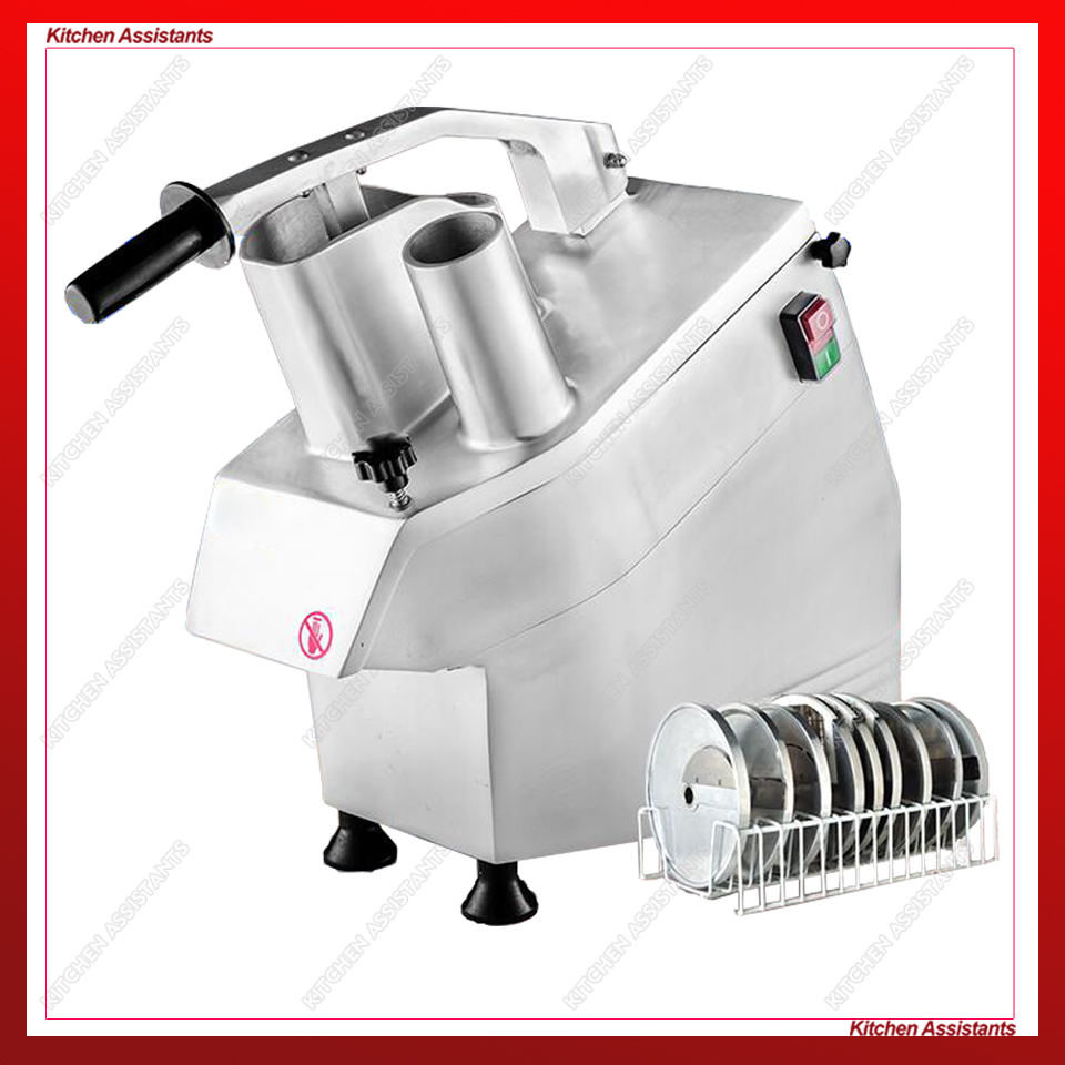 HLC300 Kitchen Multifunctional Commercial Fruit Vegetable Slicer Cutter Spiral Electric French Fry Vegetable Cutter 220V 110V