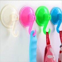 1 шт съемный настенный крючок на присоске для ванной и кухни