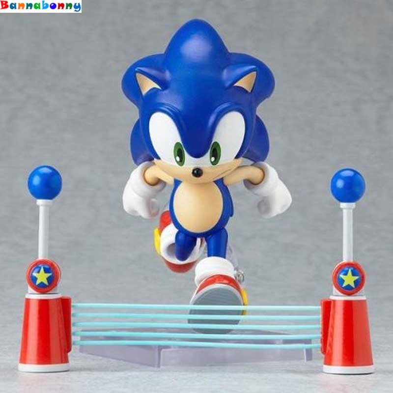 New hot 10cm Q version Sonic the Hedgehog mobile action figure toys collection gift toy doll new hot 17cm avengers thor action figure toys collection christmas gift doll with box j h a c g