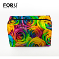FORUDESIGNS Excellent Quality Travel Toiletry Bag Large Capacity Travel Trace  Multifunctional Hanging Wash Bag Makeup Bag