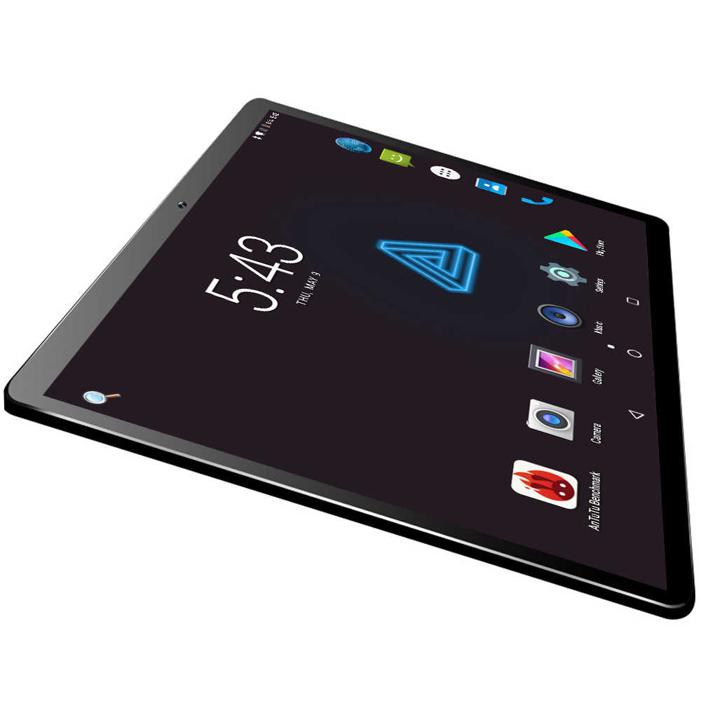 2019 New Glass 10 inch tablet Unlocked 4G LTE Android 8.0 4GB+64GB Dual Sim Card Slots Dual Cameras WiFi GPS Tablet 10.1