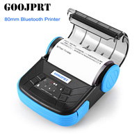 GOOJPRT MTP 3 80mm Bluetooth POS Receipt Thermal Printer Bill Machine For Supermarket Restaurant Support Android IOS