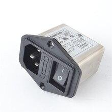 10 А мощность EMI фильтр CANNY WELL EMI с кулисный переключатель и разъем CW2B-10A-T