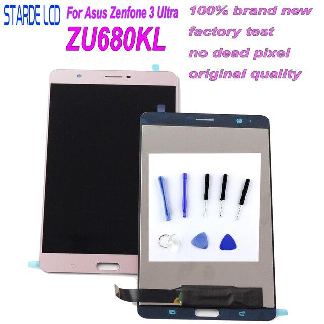 LCD Para Asus Zenfone Starde 3 Ultra ZU680KL A001 LCD Screen Display Toque Digitador Assembléia