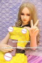 NEW Top quality 125cm real silicone doll, real life sex dolls vagina real pussy, life size japanese love doll, loral sex toys