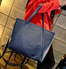 Frauen schulter tasche casual tote bonbonfarben perfekte verarbeitung PU leder famous brand fashion design