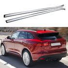 Aluminum Roof Rack Rails for Jaguar F-Pace f pace 2016-2018 Bar Luggage Baggage