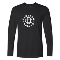 Cameron Dallas T-Shirts Funny Letters Print Long Sleeve Top Tee Hipster Cotton Casual Outside Tee Shirts Cameron Dallas