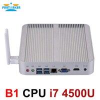 Partaker неттоп B1 Intel Core i7 4500U HD Графика 4400 16 GB 512 GB SSD, wifi мини-ПК windows офисный компьютер
