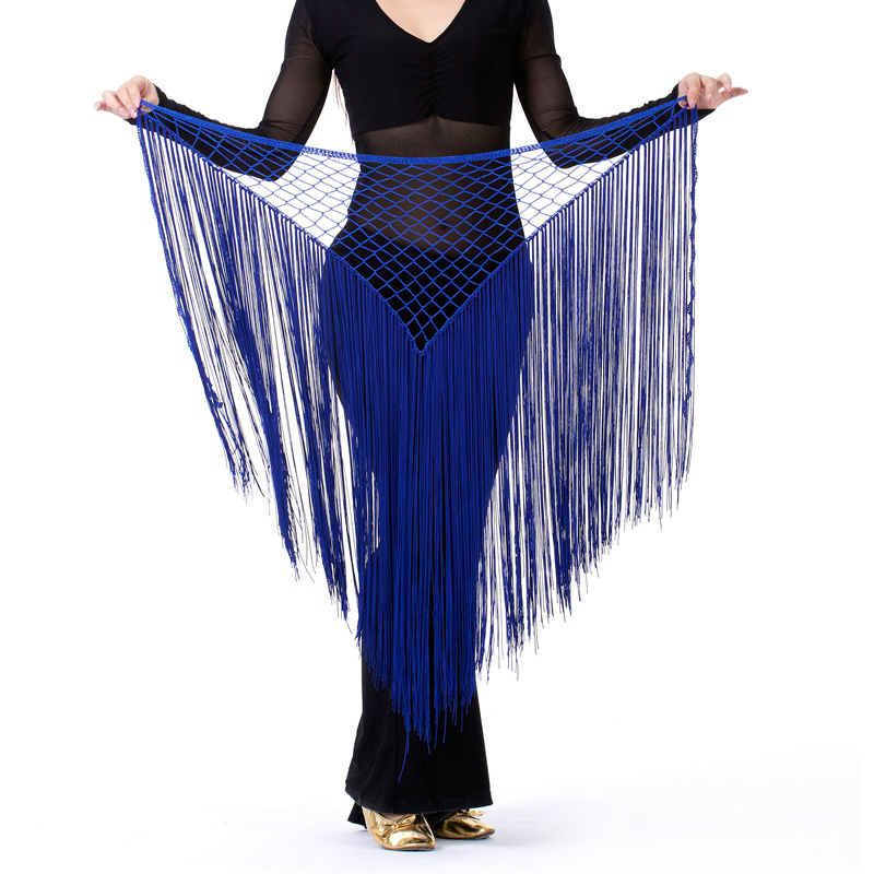 Belly Dance Hip Towel Mermaid Buttocks Argentina Bandage Cape Style Bellydance Waist Chain 13 Color