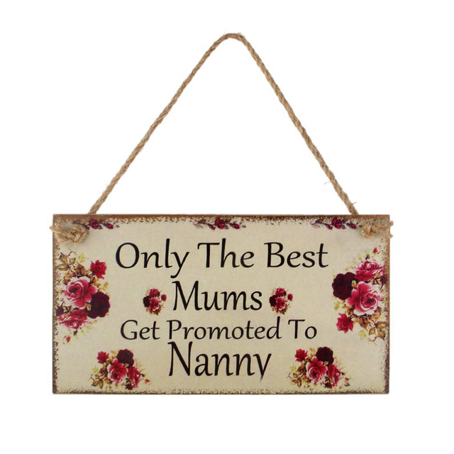 rectangle hanging board father s day mom s birthday sign board