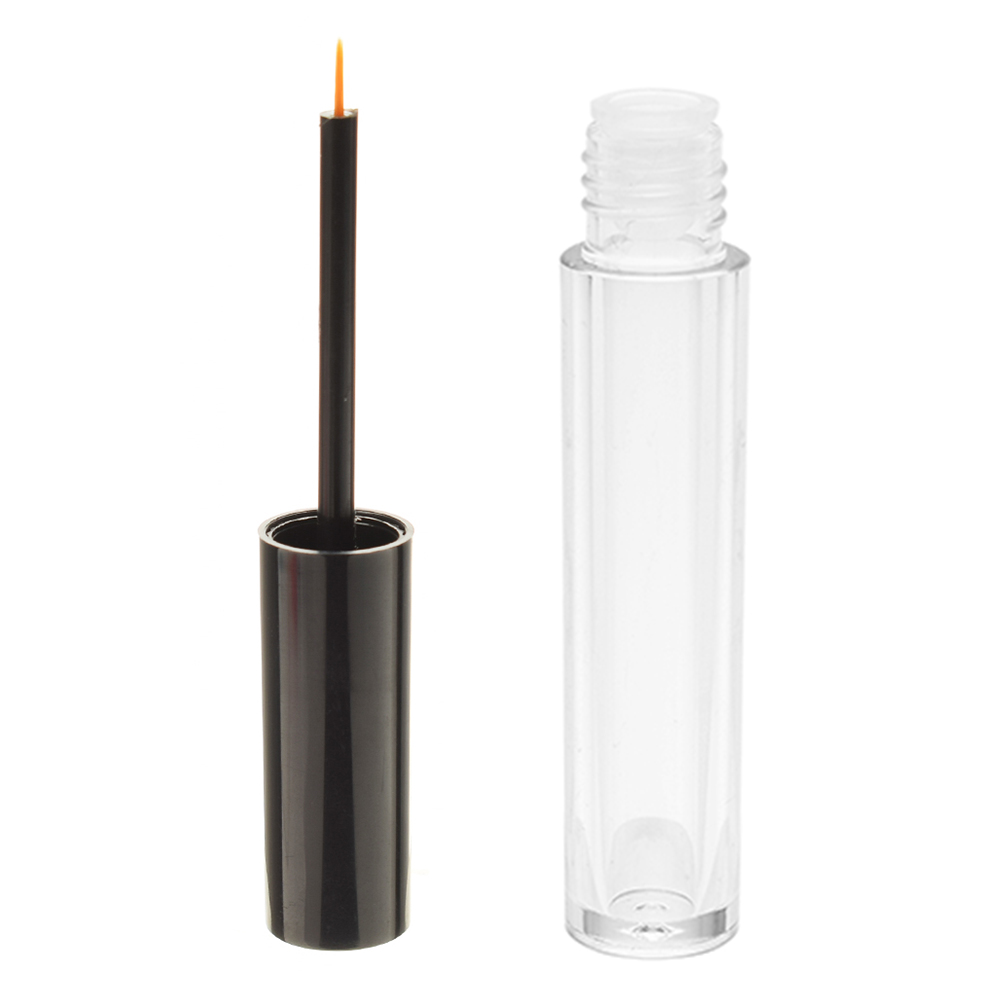 4ml Mini Cosmetic Empty Eyelashes Tube Mascara Eyeliner Vials Bottle Makeup Organzier Container With Brush Refillable Bottles