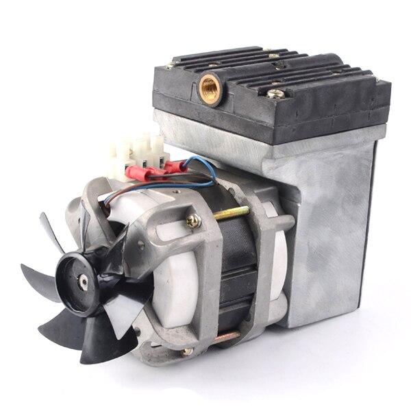 GC 50 AC110V 220V 80w Oilless Electric Mini Diaphragm Vacuum Pump 33L min vacuum flow