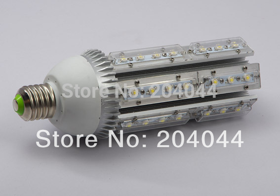 Free Shipping: 1pcs/lot E40/27 Base Led Corn Street Light Bulbs With 42*1w Power, 85 To 265v Ac Voltage, Ce And Rohs-certified e40 100w led corn light with fan free shipping