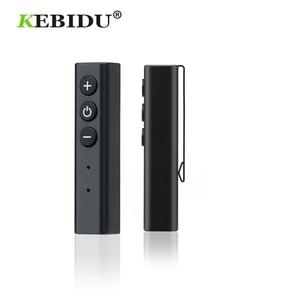 Image 1 - Kebidu 헤드폰 어댑터 펜 클립 블루투스 4.2 수신기 아이폰 샤오미 핸즈프리 무선 음악 어댑터 유선 헤드셋