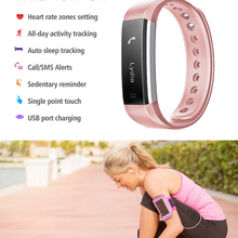 ФОТО sovogu b15 tw64 smart heart rate band wristband fitness activity tracker bluetooth4.0 sport bracelet for ios android waterproof