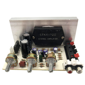 Image 4 - Sanyo Dikke Film Chip 2X50 W AC15 18V 2.0 Stereo Audio High Power Versterker Gemonteerd Board E1 006