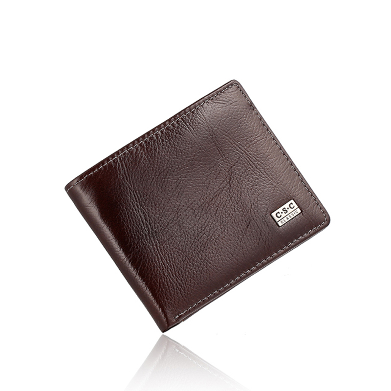 magro brown genuine couro real Altura do Item : 3.7inch