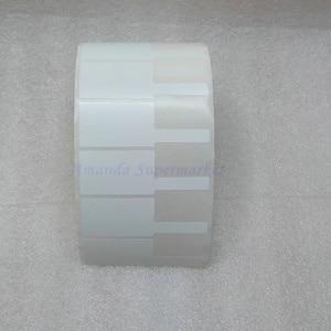 Image 2 - Network Cable Label Sticker 70*24mm 1000 Pieces PET Material White Color P Shape Waterproof Tear resistant