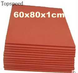 2 sztuk ciepła prasa podkładka silikonowa mata 60x80x1cm odporna na wysokie temperatury do sublimacji przenikania ciepła