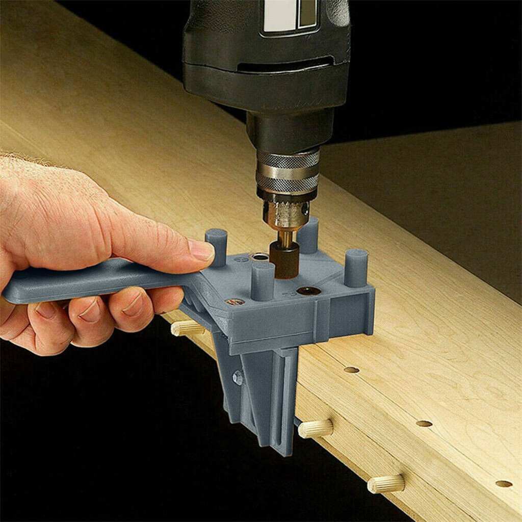 Detachable Hole Punch Locator Jig Tool Drill Guide Sleeve For Drawer Cabinet Hardware Dowel Wood Drilling Hole Punching Ruler@@