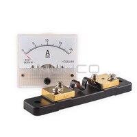 Dc 0 ~ 20A analoge meter/stroom monitor panel meter 85C1-A mechanical ampere meter class 2.5 pointer meter + resistive shunt