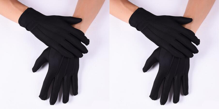 6 Pair Gloves Manicure Cotton Blends Labor Insurance Sweat-proof Serving Working