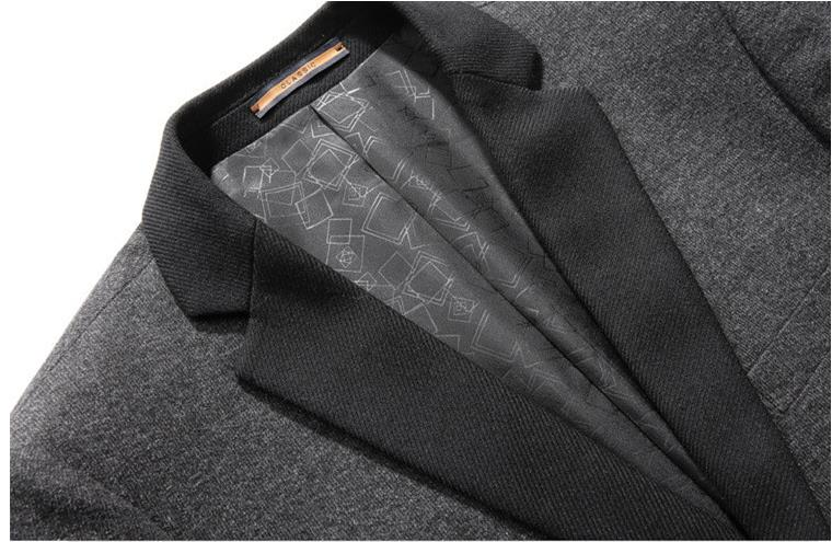 Automne Nouvelle Laine xxxl Qualité Plus Hommes Gris De Casual C10 Arrivée 2017 Gray Blazer Costumes Batmo taille Haute M D'affaires xtTgq5fw