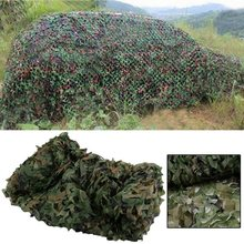 Camouflage Net Car Covers For Outdoor Hunting Durable Polyester Fabric Army Military Sun Shelter with String Backing