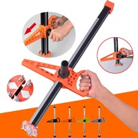 Manual Gypsum Board Cutter Artifact Tool with 10Pcs Blades Double Blade Board Cutter Adjustable Board Cutting Tools