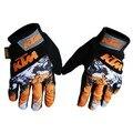 KTM езда Перчатки Полный Finger летние Велоспорт Перчатки Открытый Спорт Горная Дорога Езда Мотокросс Дышащий Велосипед Перчатки