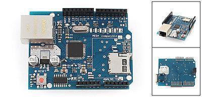 Ethernet Shield W5100 For Arduino Main Board 2009 UNO ATMega 328 1280 MEGA2560 open smart uno atmega328p development board for arduino uno r3