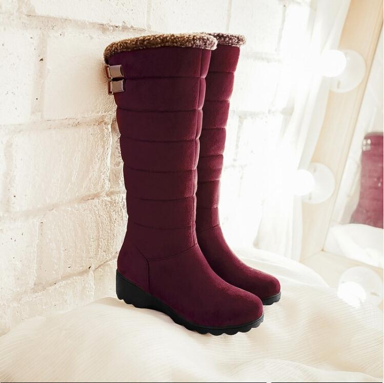 Popular Long Snow Boots-Buy Cheap Long Snow Boots lots from China ...