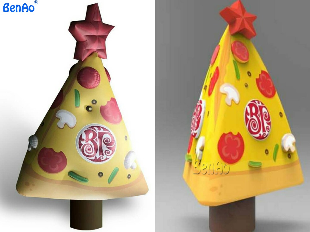 X0710 BENAO Free shipping  Inflatable pizza model for advertising/Christmas decoration inflatable christmas tree