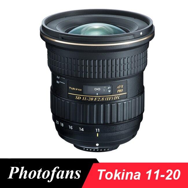 Tokina AT-X 11-20mm f/2.8 PRO DX Lentille pour Nikon D3200 D3300 D3400 D5200 D5300 D5500 D5600 D7200 D7100