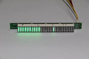 Image 3 - 32 LED Music electrical level indicator VU Meter Audio Level Meter for Amplifier Board Adjustable light Speed Board AGC Mode