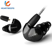 Moxpad X6 In ear sport Earphones with Mic for Huawei XiaoMi ,Mobile Cell Phones,Replacement Cable+Noise Isolating headset