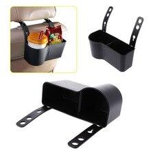 Soporte para taza de coche, reposacabezas de coche, organizador de asiento trasero, soporte para taza de vehículo multifuncional, cajas de soporte, caja de almacenamiento