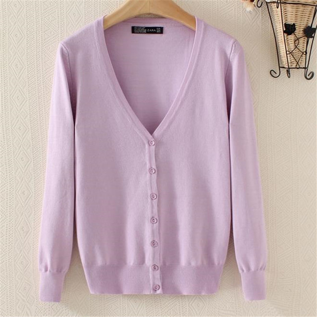 710552bdd17 European Street New Fashion Spring Autumn and Winter Women Oversized  Cardigans Sweaters Knitted Christmas Sweater Tops 60243