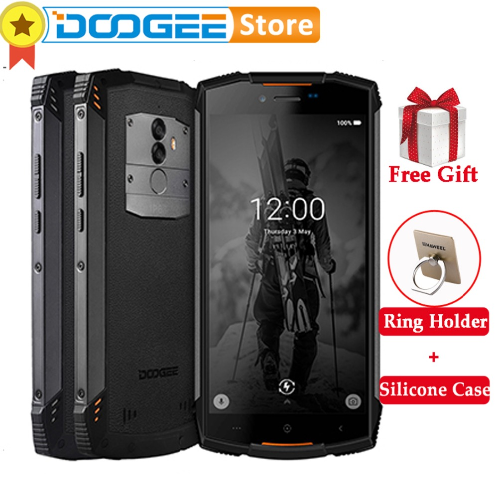 DOOGEE S55 IP68 Waterproof Smartphone 4GB 64GB 5500mAh MTK6750T Octa Core 5.5inch Android 8.0 Dual SIM 13.0MP Volte OTA GPS Pho-in Cellphones from Cellphones & Telecommunications    1